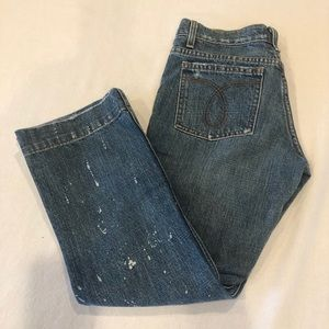 🆕🆕JUICY COUTURE cropped vintage 00's blue jeans